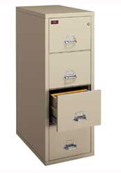 FireKing Two (2) Hour Fire Rated File Cabinet from FIREKING