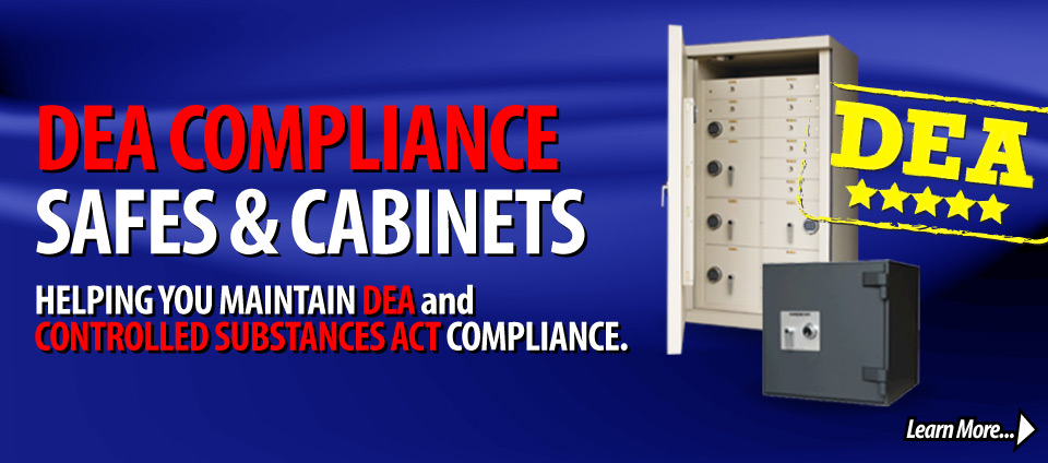 Dea Compliant Safes and Cabinets