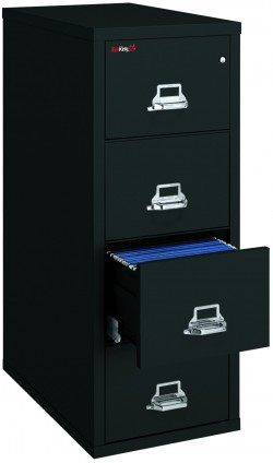 FireKing 4-1831-C, 4 Drawer Letter Vertical File Cabinet