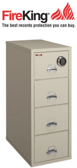 FireKing 4-2131-C SF Safe in a File Cabinet  sc 1 st  Safefile.com & Fireproof Safe in a Fire File Cabinet from FireKing Vertical High ...