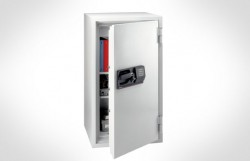Sentry S8771 58-Cubic Feet Commercial Electronic/Tubular Key Fire Safe, 624-Pound, Gray