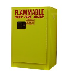 A105 - 12 Gal. Flammable Storage Cabinet w/ Self-Latch Standard Door