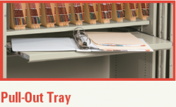 Pull Out Tray / Shelf for FireKing Storage Cabinet