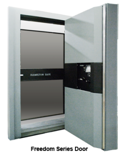 "UL2 Freedom Vault Door, Class 2 Rated 36""W x 79""H"