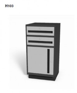 "Model H103 - Stand-up 38"" High Undercounter Cabinet"