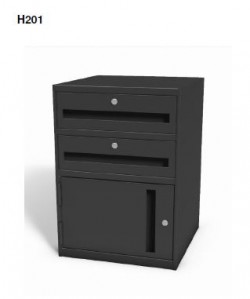 "Model H201 - Sit-down 27 1/2"" High Undercounter Cabinet"