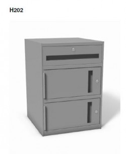 "Model H202 - Sit-down 27 1/2"" High Undercounter Cabinet"