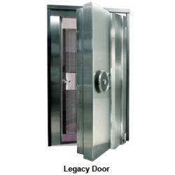 "UL3-Legacy Vault Door, Class 3 Rated 36""W x 79""H - Stainless Steel"