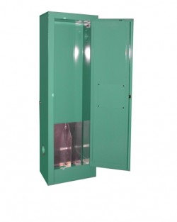 MG102FLP MedGas Partial Gas Cylinder Storage Cabinet