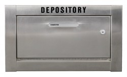 High Security drop safe for envelopes, rent checks and more