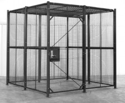 Police & Law Enforcement Holding Cells, Prisoner Containment Area HC-8x8x8