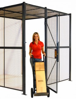 Tool Cribs & Locking Equipment Cages, Wire Partition Walls / Cages