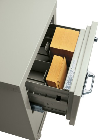 Organize drawers into 2 sections