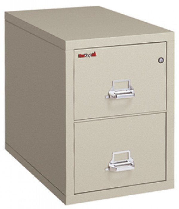 Captivating FireKing 2 1831 C, 2 Drawer Letter Width Vertical Filing