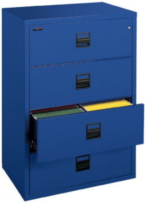 38 Wide Lateral Fireproof Filing Cabinet