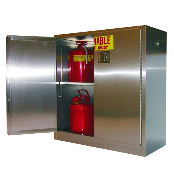 A330-SS Securall Stainless Steel Flammable Storage Cabinet