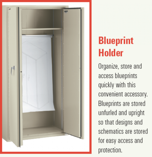 Blueprint Storage Cabinet, Fire Rated ...
