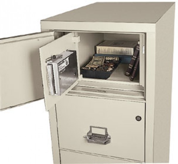 Charming Hidden Burglary Safe In A Fireproof File Cabinet ...