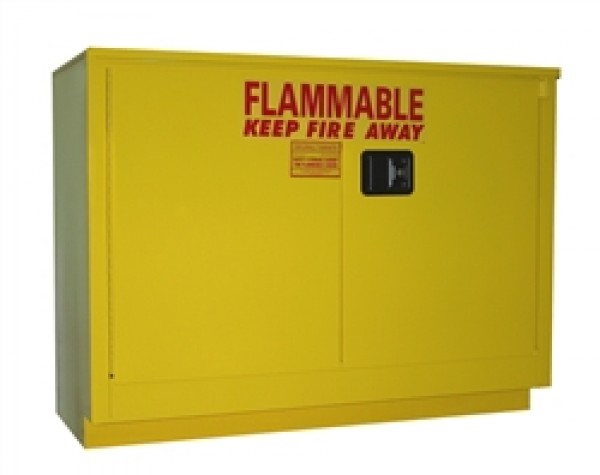OSHA Approved flammable storage cabinet for under counter use ...