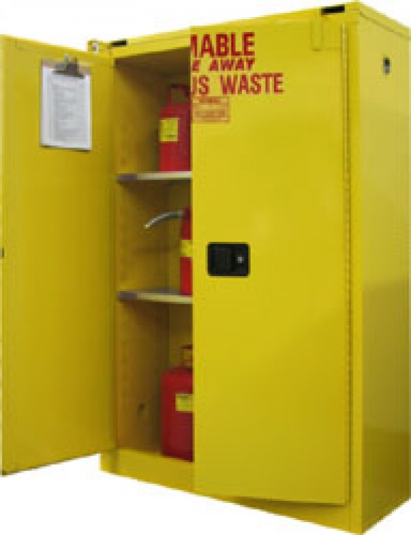 W3045 Securall HazMat Hazardous Waste Storage Cabinet OSHA Approved