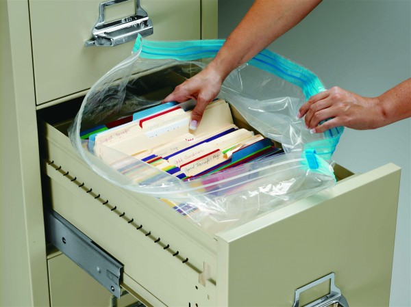 DRYFiles, Waterproof File Cabinet Bags for Documents, Valuables ...