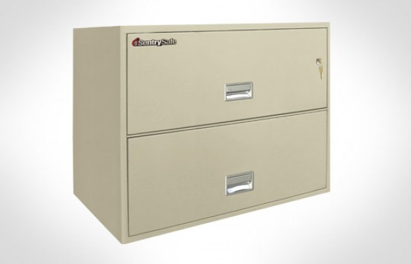 2l3600 Sentrysafe Two Drawer Lateral Fireproof File 36