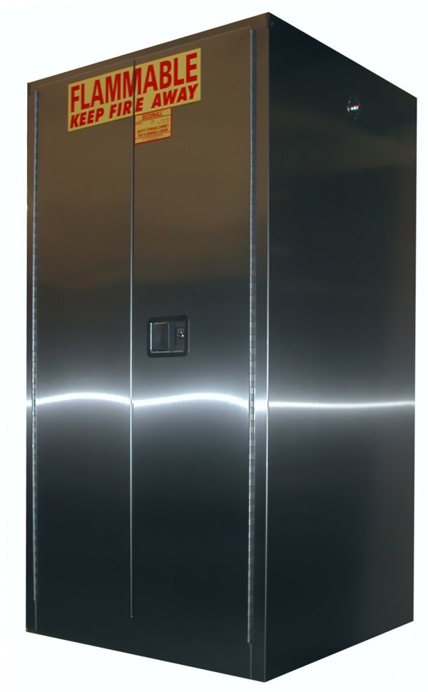 A360 Ss Securall Stainless Steel Flammable Storage Cabinet