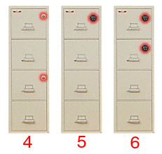 Fireproof Safe, Fire Safe File Cabinet, Lateral, Vertical